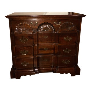 American Cherry Franklin Goddard Chest For Sale