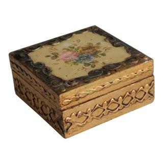 Vintage Florentine Style Box For Sale