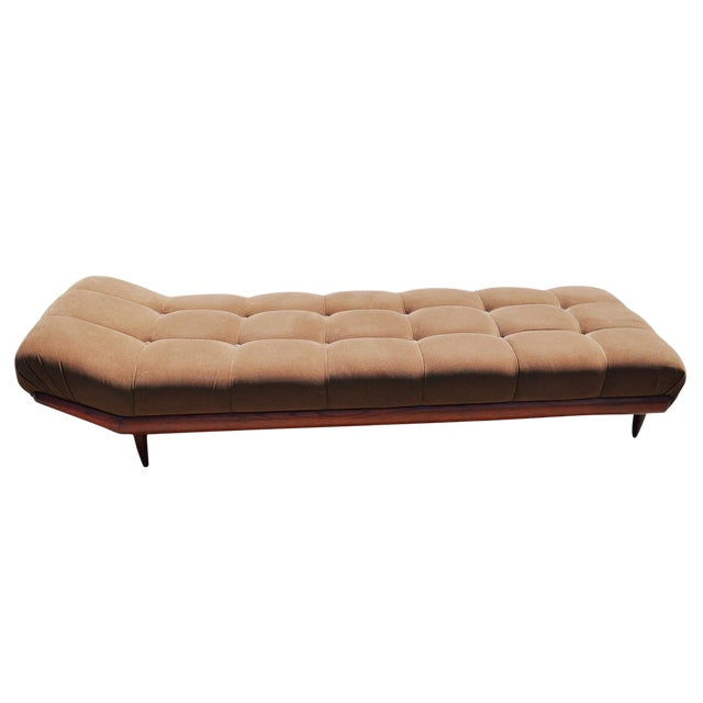 1970s Vintage Adrian Pearsall Style Gondola Chaise For Sale