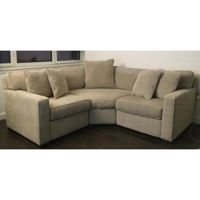 Macy\'s Radley Apartment Sectional Sofa | Chairish