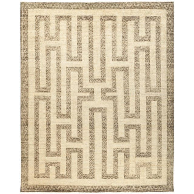 """Oromo, African Area Rug - 8' 2"""" X 9' 10"""" For Sale"""