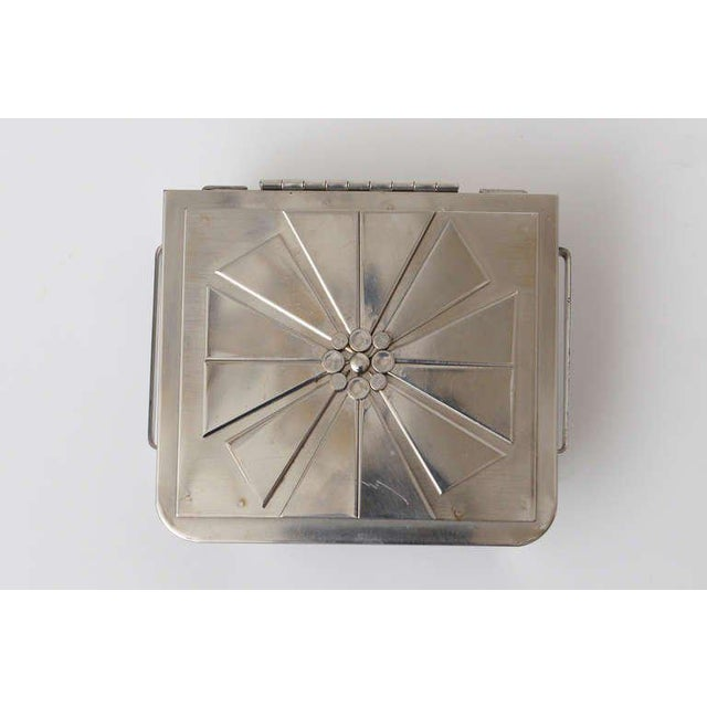Stanley Szwarc Sculptural Stainless Steel Hinged Box For Sale - Image 9 of 11