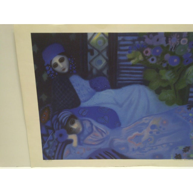 Americana Limited Edition Signed Print Ghosts at Night Lucelle Stoisicord For Sale - Image 3 of 6