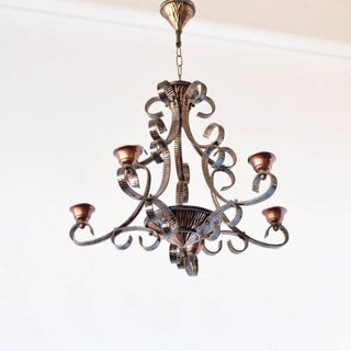 Copper Chandelier Preview