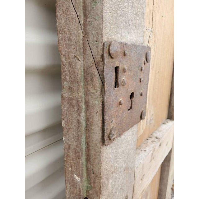 Rustic 19th Century Mexican Architectural Window - a Pair For Sale In Austin - Image 6 of 10