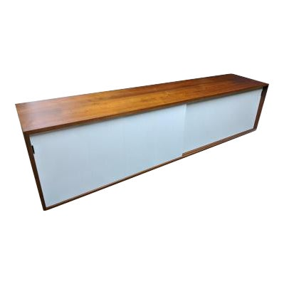 Wall Mounted Florence Knoll Credenza For Sale