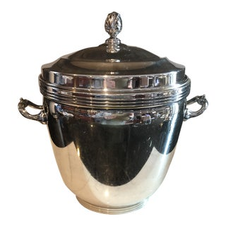 1960s Sheffield Silver Co. Silver-Plate Ice Bucket For Sale