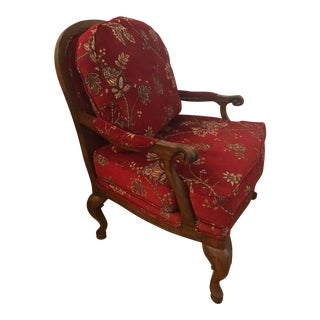 Cohan Floral Accent Chair For Sale