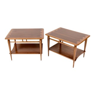 Lane Acclaim End Tables by Andre Bus For Sale