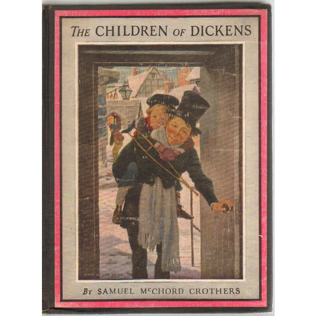 """Paper 1947 """"The Children of Dickens"""" Collectible Book For Sale - Image 7 of 7"""