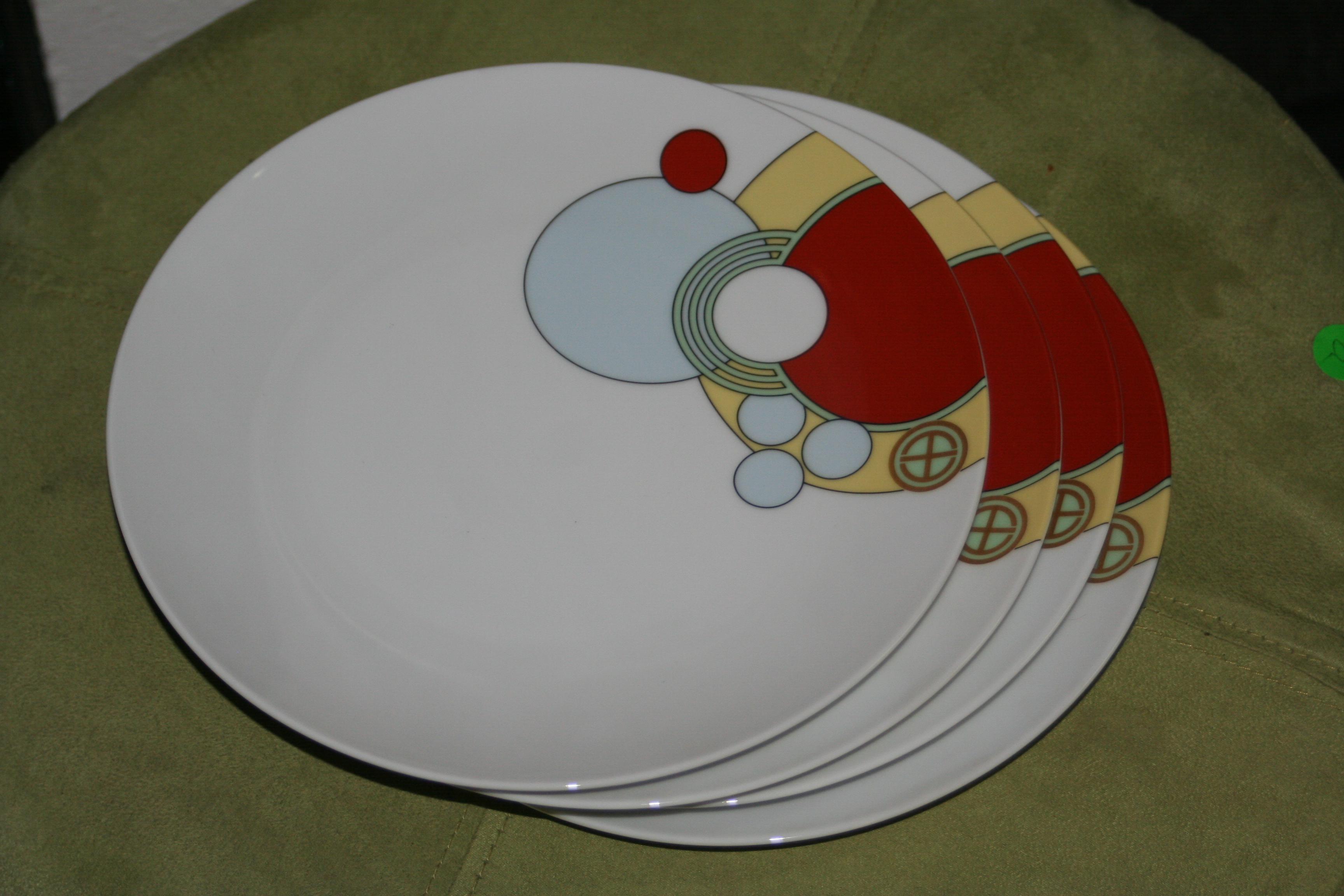 Frank Lloyd Wright for Noritake Imperial Hotel Dinnerware - 18 Pc. - Image 8 of  sc 1 st  Chairish & Frank Lloyd Wright for Noritake Imperial Hotel Dinnerware - 18 Pc ...