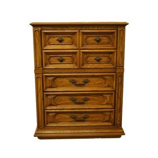 "Thomasville Furniture Segovia Collection 38"" Chest of Drawers For Sale"