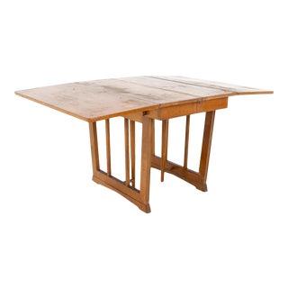 Eliel Saarinen for Rway Mid Century Drop Leaf Table For Sale