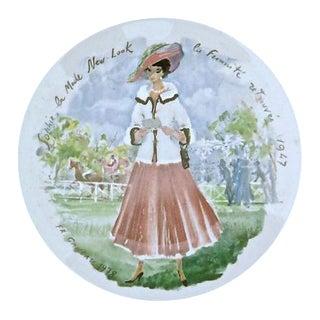 Vintage Limoges Les Femmes Du Siecle Plate For Sale