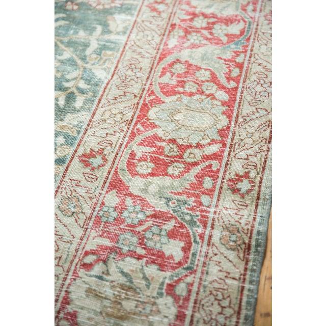 """1930s Vintage Distressed Tabriz Carpet - 8'1"""" X 11'4"""" For Sale - Image 5 of 13"""