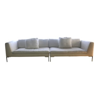 2000's B& B Italia Charles Sofa For Sale