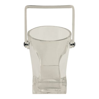 Mid-Century Lucite Ice Bucket For Sale