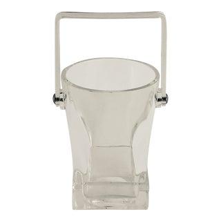 Mid-Century Lucite Ice Bucket For Sale