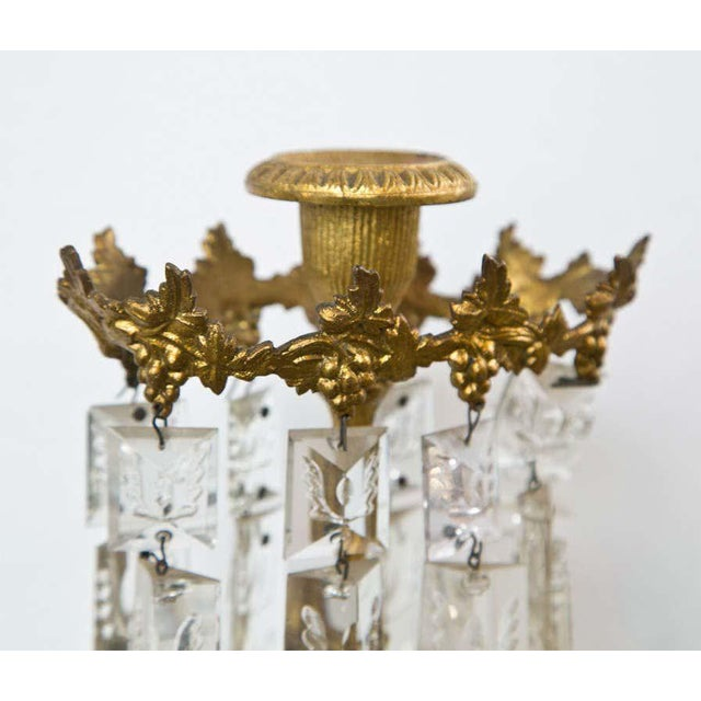 Set of Three French Belle Époque Style Candelabras For Sale - Image 9 of 11