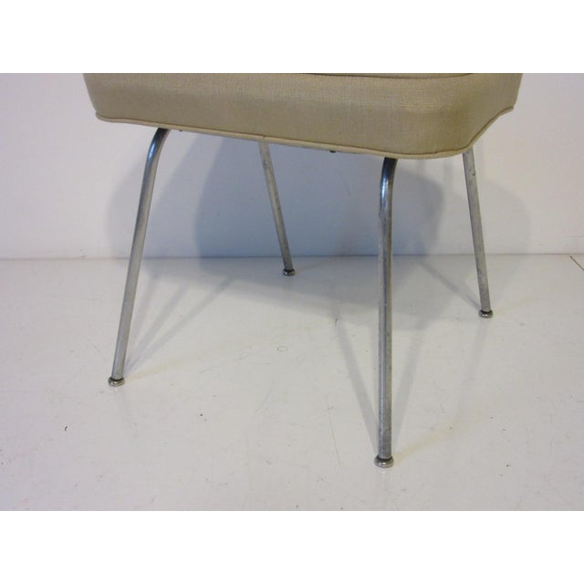 White George Nelson Vanity Stool for Herman Miller For Sale - Image 8 of 10