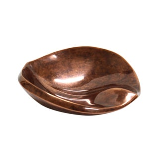 2000s Nambe Copper Dish For Sale