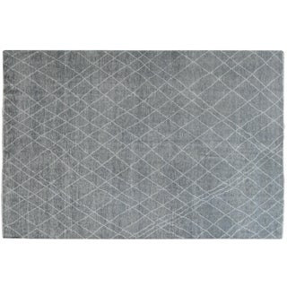 Stark Studio Rugs Contemporary New Oriental 100% Wool Rug - 5′10″ × 8′7″ For Sale