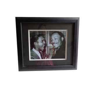 Limited Edition Framed Photograph of Dr. Martin Luther King, Jr For Sale