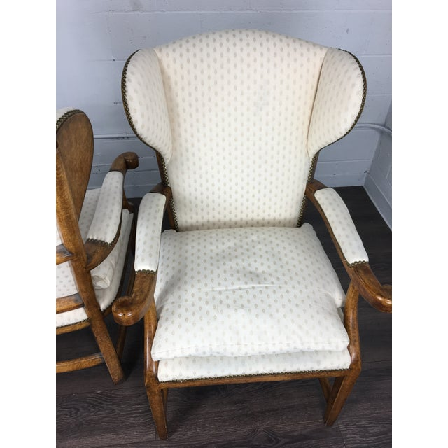Minton-Spidell English Barber Chairs - a Pair - Image 9 of 10