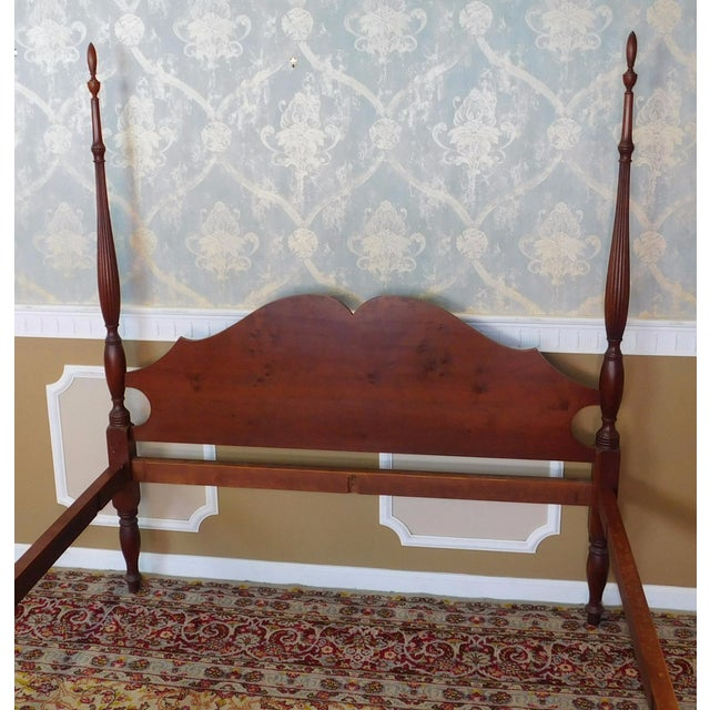 Eldred Wheeler Colonial Queen Poster Bed For Sale - Image 10 of 11
