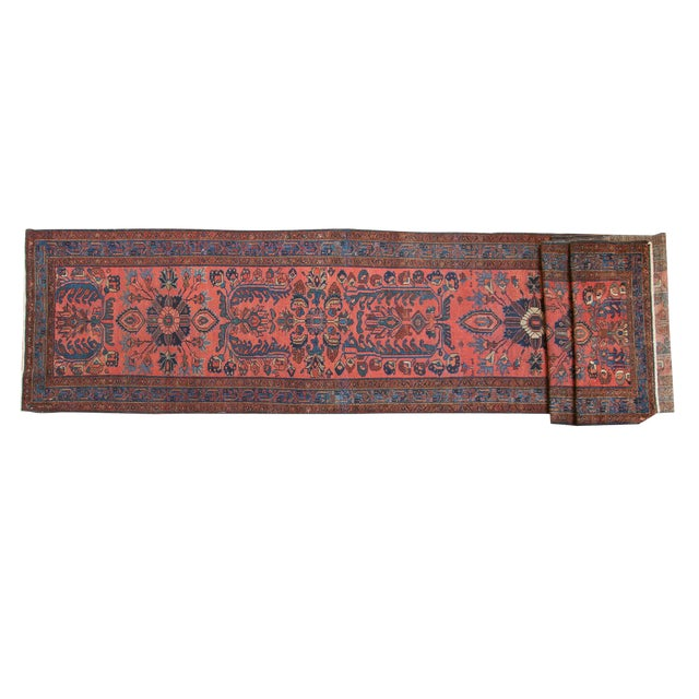 "Vintage Lilihan Rug Runner - 3'1"" x 17'9"" For Sale"