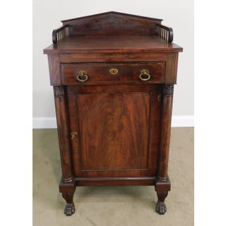 Antique 19th Century Classical Mahogany Mint Julip Cabinet Preview