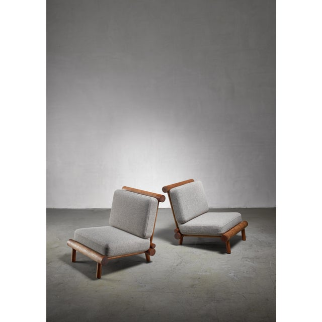 Wood Charlotte Perriand Chairs From La Chachette, France For Sale - Image 7 of 7