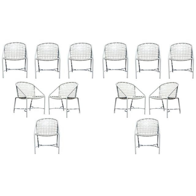 Mid-Century Modern Pair of Brown Jordan Kantan Patio Dining Chairs, 1960s For Sale In Detroit - Image 6 of 6