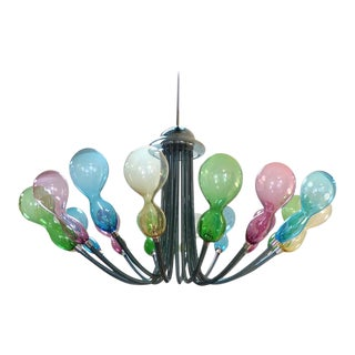 21st Century Monumental Murano Chandelier by Karim Rashid for Purho