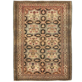 Antique Persian Village Rug For Sale