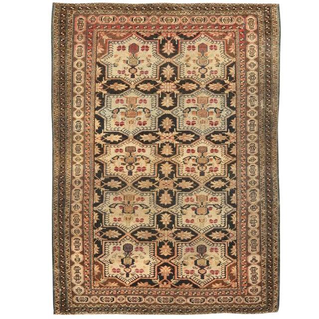 Antique Persian Village Rug For Sale