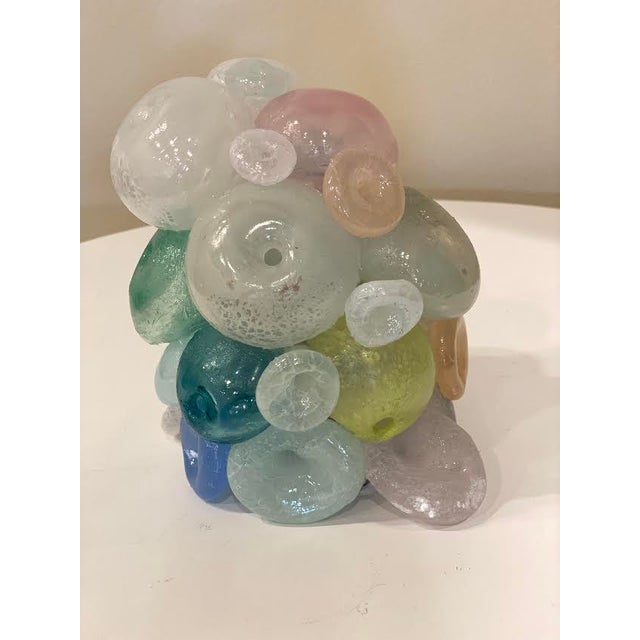 Modern Blown Glass Art Sculpture For Sale - Image 9 of 13
