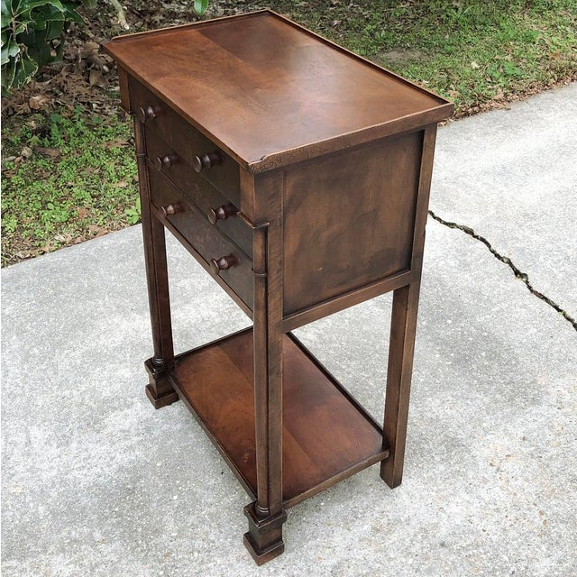French 19th Century French Charles X Nightstand For Sale - Image 3 of 12