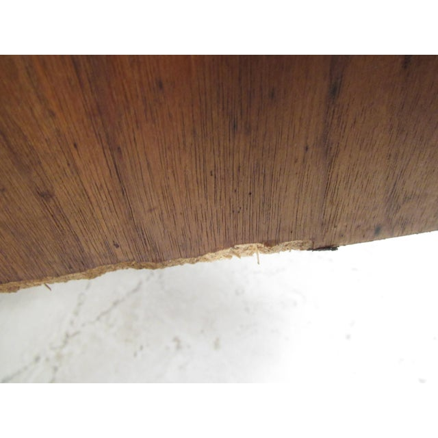 Mid-Century Walnut Bookcase or Wall Unit For Sale - Image 11 of 13