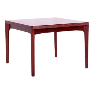 Mid Century Modern Vejle Stole & Mobelfabrik Rosewood Square Side Table For Sale