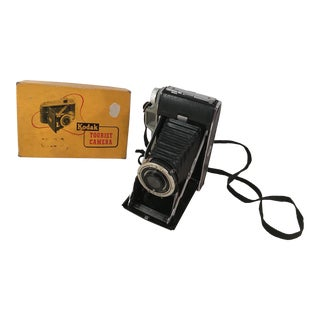 Mid-Century Kodak Tourist Camera in Box