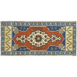 "Nalbandian - 1960s Turkish Oushak Yastik - 1'8"" X 3'7"" For Sale"