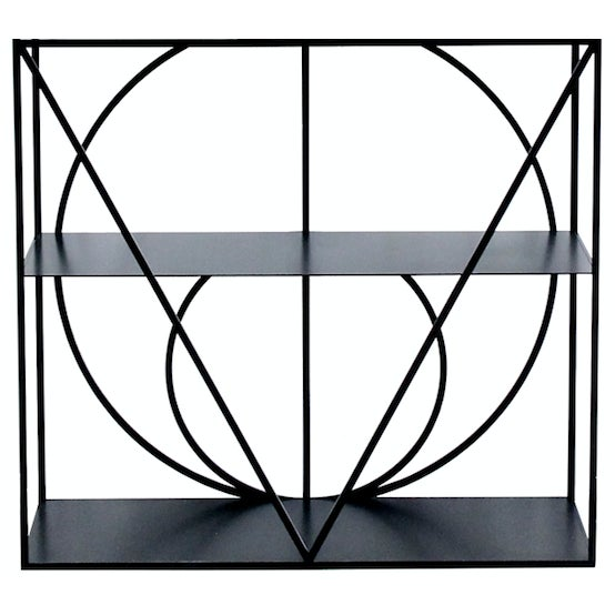 Etagere No. 1 x Alex Drew and NO ONE YEAR: 2017 MADE IN: Detroit + Ferndale, MI Sleek geometry creates an elegant and...