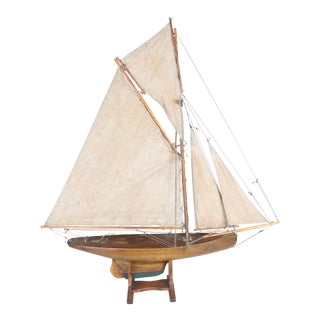 English Model Pond Yacht For Sale