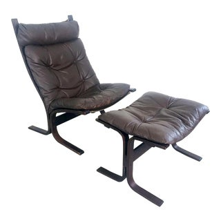 "1960s Vinage Ingmar RellingWestnofa ""Siesta"" Chair For Sale"