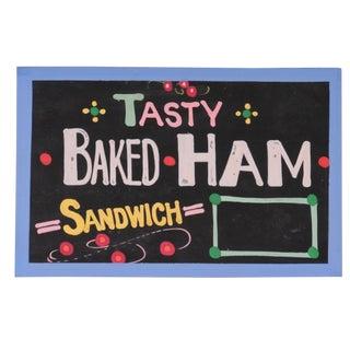 """""""Tasty Baked Ham"""" Sign For Sale"""