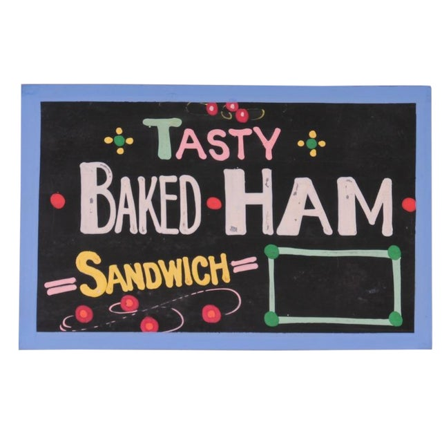 """Tasty Baked Ham"" Sign - Image 1 of 3"