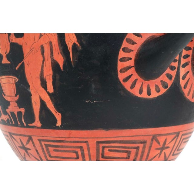 19th Century Grand Tour Style Ancient Greek Urn Copy For Sale In Los Angeles - Image 6 of 10