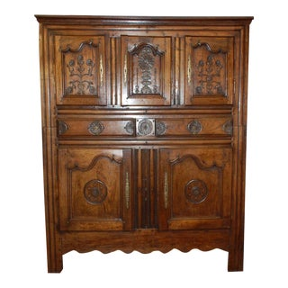 19c Italian Ornately Carved Cabinet