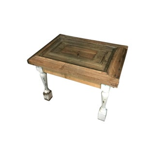 Reclaimed 18th Century Door Coffee Table For Sale